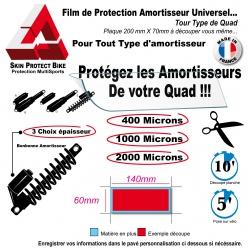 Film de Protection Amortisseur Quad (140mm X 60mm)