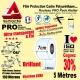 Rouleau Film Protection cadre Vélo 150 Polyuréthane 7cm Pro Atelier Mat ou Brillant