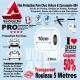 Rouleau Film Protection Pare Choc Voiture et Carrosserie 4X4