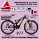 PROTECTION Batterie Specialized Turbo Levo Film Transparent