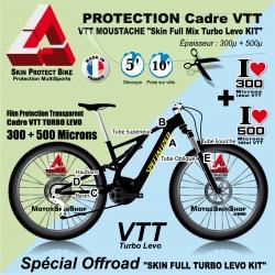 Kit Film Protection cadre TURBO LEVO VTT Complet 2 épaisseurs