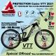 Kit Film Protection cadre MOUSTACHE VTT 2021 Complet 2 épaisseurs