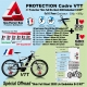 Kit Protection Skin Full Mix Giant 2020 Liv Embolden E+2 KIT Complet 2 épaisseurs
