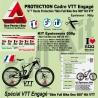Kit Film Protection cadre VTT 500 Skin Full Bike One 500 Kit VTT Cadre complet plus Fourches