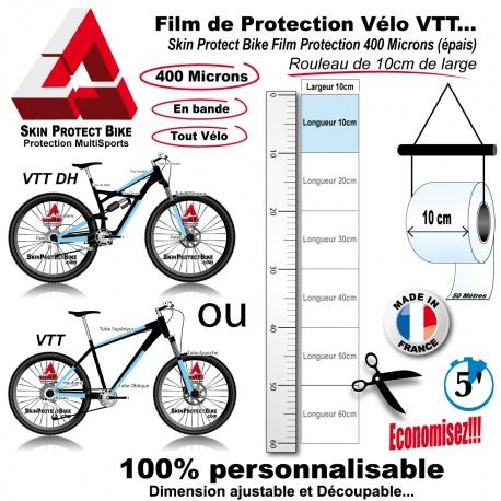 Film de Protection unitaire 400 Microns 10cm de large économique