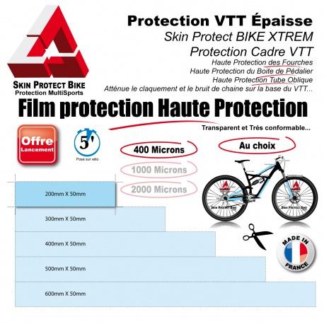 Film de Protection VTT épaisseur aux choix en Bande