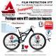 Film de Protection VTT Universel 0,4mm soit 400 Microns en Bande