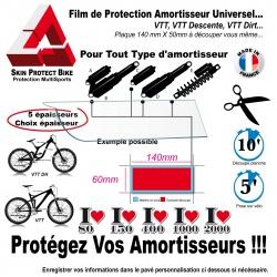 Film de Protection Amortisseur VTT Skin Protect Amortisseur rhino