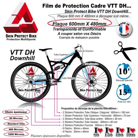 Film de Protection VTT DH Downhill