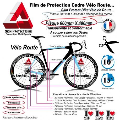 Film de Protection Vélo Route