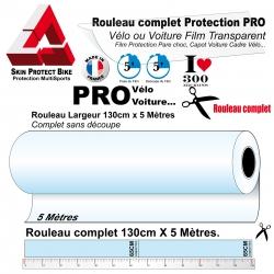 Rouleau Film de Protection Vélo PRO Rouleau 300 microns 5 Mètres Grand Rouleau complet