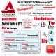 Film de Protection Vélo Route VTT Universel 150 Microns Bande Découpé