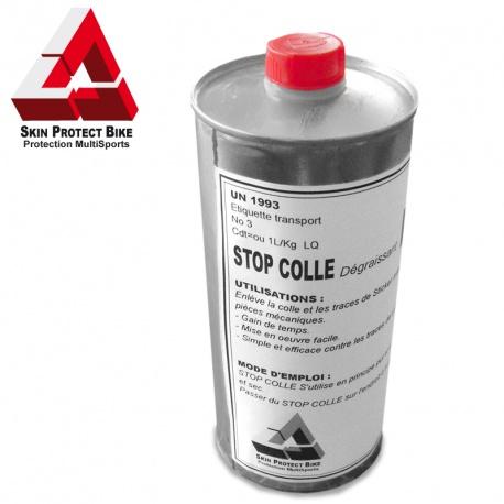 Stop Colle PRO dissous la colle et dégraisse
