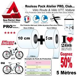 Rouleau Protection PRO Vélo Route et VTT 200 Microns Pack Atelier